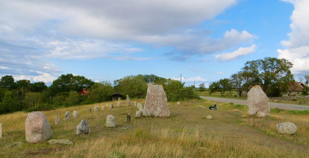 Cmentarz wikingów na Olandii