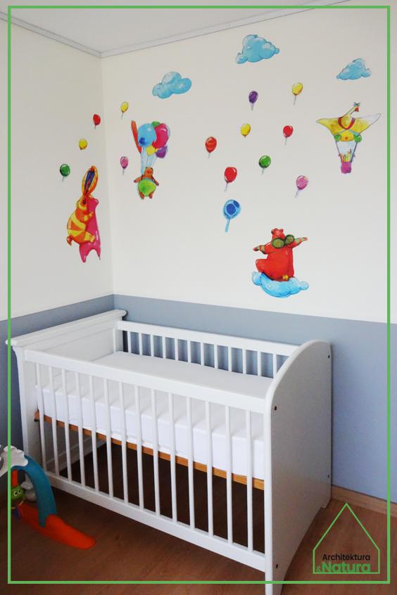 Pokój dla małego dziecka w Holandii Projektowanie wnętrz: Doscha STUDIO Julia Chalimoniuk